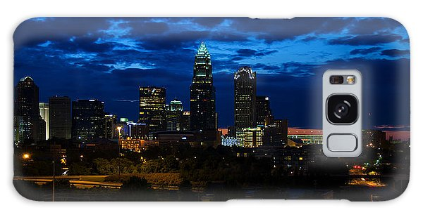Featured Images Galaxy Case - Charlotte North Carolina Panoramic Image by Chris Flees
