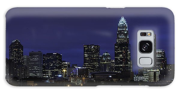 Galaxy Case featuring the photograph Charlotte Skyline 0002 by Donald Brown