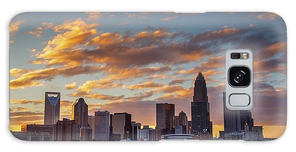 Charlotte Sunset Galaxy Case by Serge Skiba