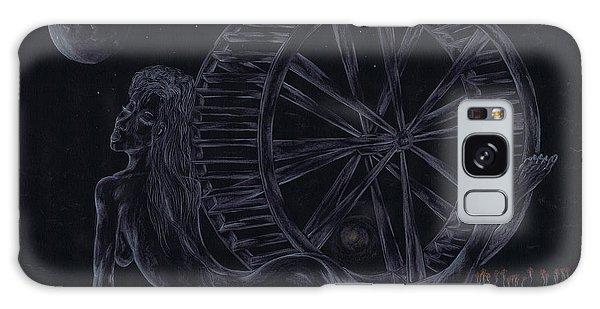 Charm Of The Moon. Galaxy Case by Kenneth Clarke
