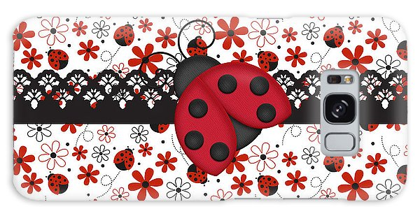 Charming Ladybugs Galaxy Case