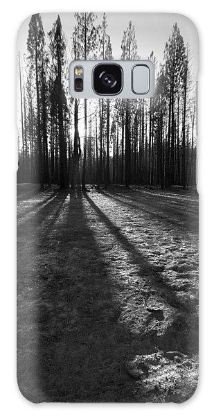 Charred Silence - Yosemite Rm Fire 2013 Galaxy Case