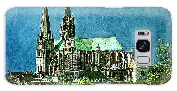 Chartres Cathedral Galaxy Case by Nikolyn McDonald