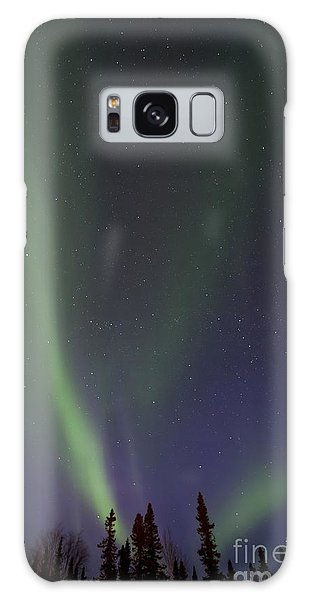 Outdoors Galaxy Case - Chasing Lights by Priska Wettstein