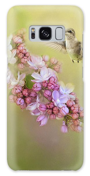 Chasing Lilacs Galaxy Case