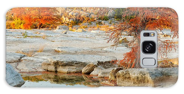 Chasing The Light At Pedernales Falls State Park Hill Country Galaxy Case
