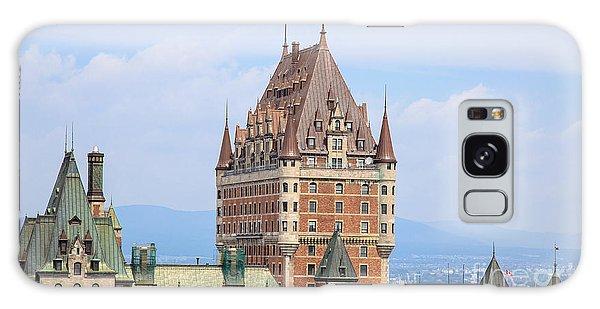 Language Galaxy Case - Chateau Frontenac Quebec City Canada by Edward Fielding