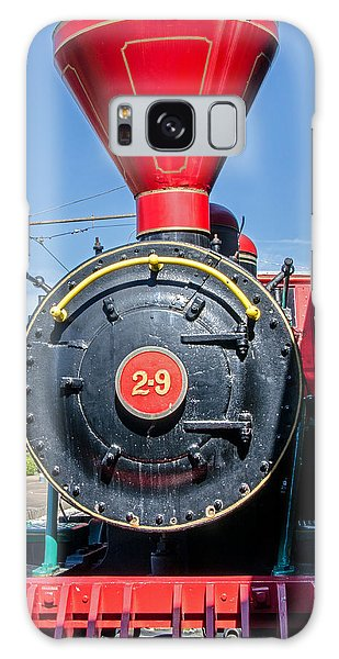 Chattanooga Choo Choo Steam Engine Galaxy Case