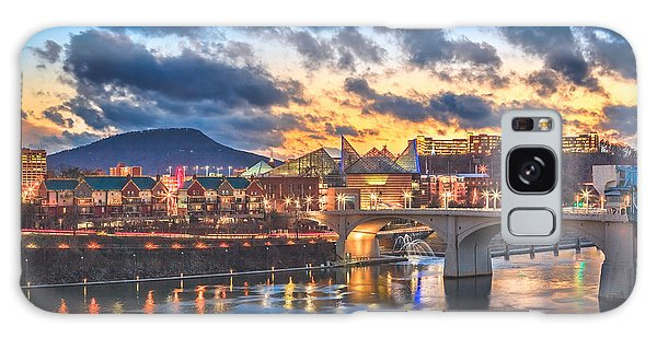 Chattanooga Evening After The Storm Galaxy Case