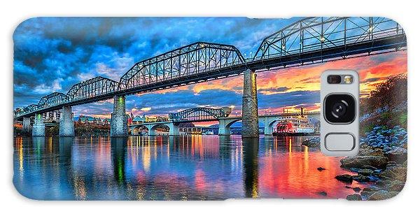Chattanooga Sunset 3 Galaxy Case