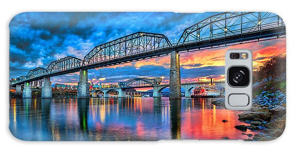 Chattanooga Sunset 3 Galaxy Case