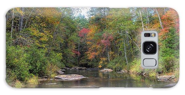 Chauga River Fall Scenic Galaxy Case