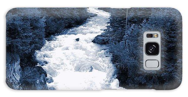 Cheakamus Glacial River - Whistler Galaxy Case by Amanda Holmes Tzafrir