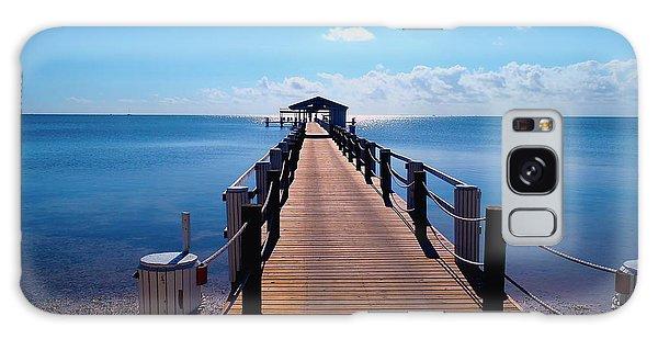 Mangrove Snapper Galaxy Case - Cheeca Pier by Carey Chen