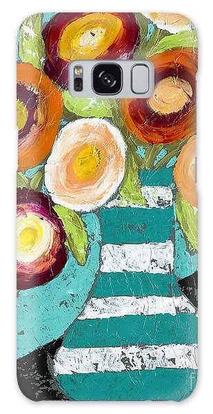Cheerful Blooms Galaxy Case