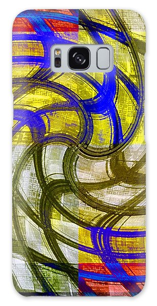 Cheerful Confusion Galaxy Case by Darla Wood