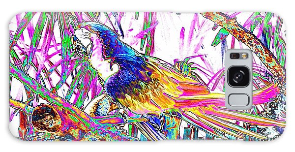 Cheerful Parrot. Colorful Art Collection. Promotion - August 2015 Galaxy Case