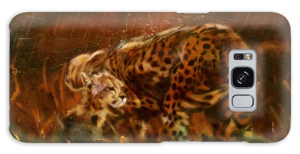 Cheetah Family After The Rains Galaxy Case by Sean Connolly