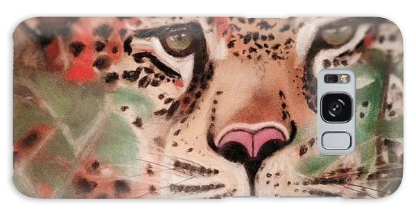 Cheetah In The Grass Galaxy Case