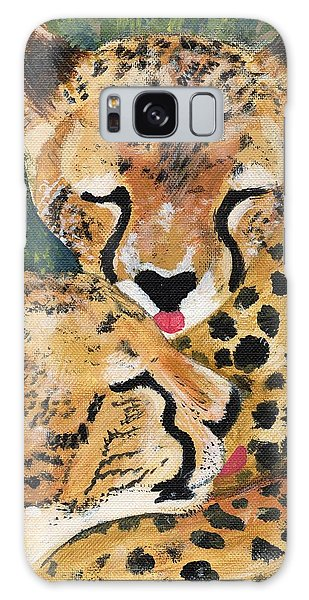 Cheetahs Galaxy Case