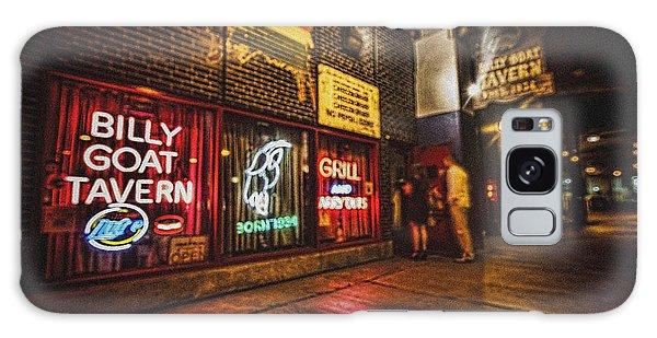 Cheezborger Cheezborger At Billy Goat Tavern Galaxy Case