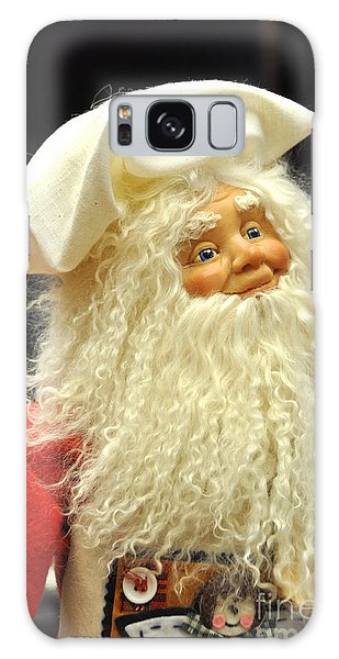 Chef Santa Galaxy Case by Vinnie Oakes