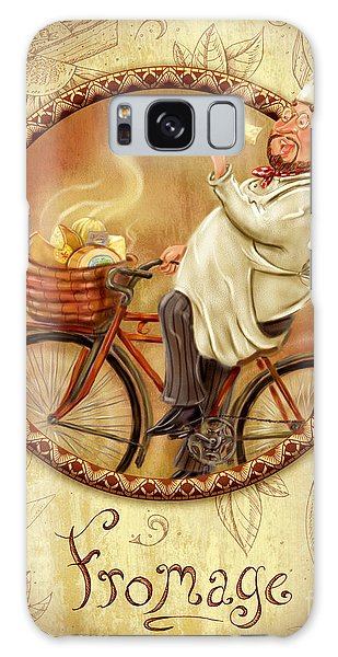 Chefs On Bikes-fromage Galaxy Case