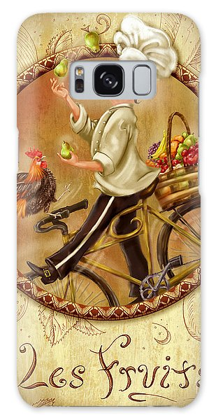 Chefs On Bikes-les Fruits Galaxy Case