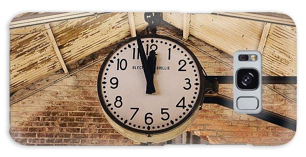 Chelsea Market Clock Galaxy Case by Kim Fearheiley