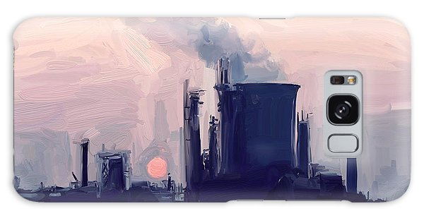 Chemical Sunset Galaxy Case by Nop Briex