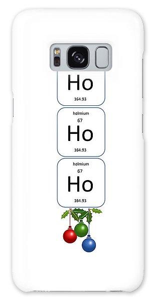 Chemistry - Ho Ho Ho Bell Pull Galaxy Case