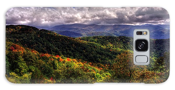 Cherohala Skyway Brushy Ridge Overlook Galaxy Case