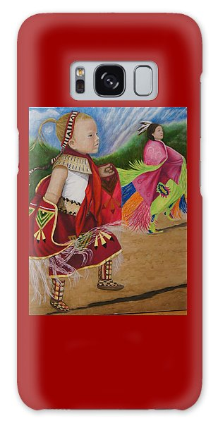 Cherokee Ribbon Dancers Galaxy Case