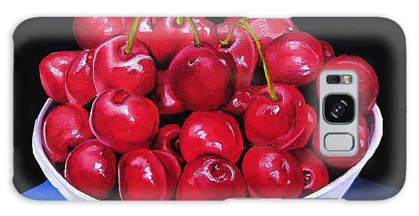 Cherries II Galaxy Case by Dawnstarstudios