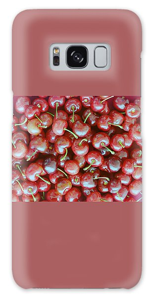 Cherries Galaxy Case
