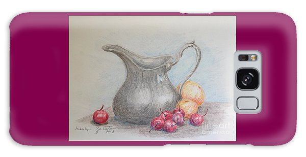 Cherries Still Life Galaxy Case by Marilyn Zalatan