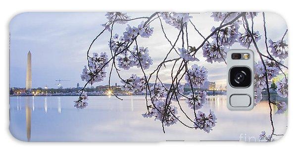 Cherry Blossom Dawning Galaxy Case