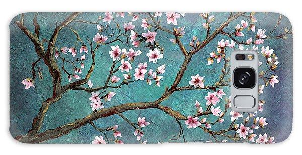 Cherry Blossom Galaxy Case by Nancy Bradley