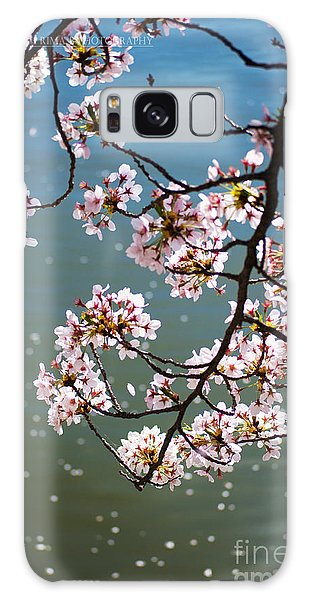 Cherry Blossom Galaxy Case by Rima Biswas
