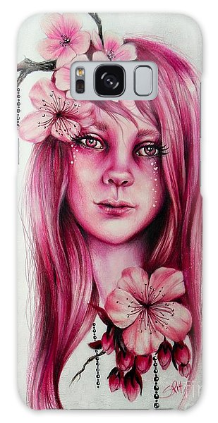 Cherry Blossom Galaxy Case by Sheena Pike