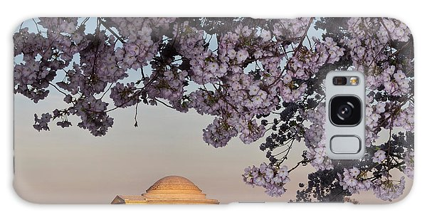 Cherry Blossom Tree With A Memorial Galaxy Case