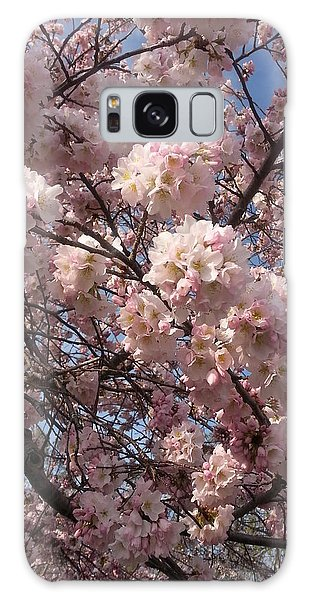 Cherry Blossoms For Lana Galaxy Case