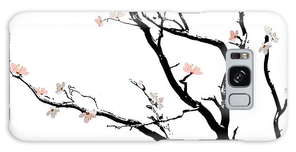 Cherry Blossoms Tree Galaxy Case