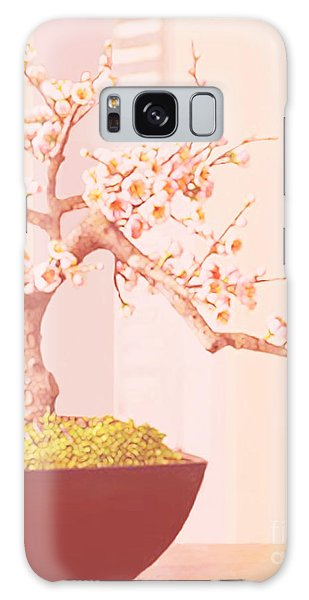 Cherry Bonsai Tree Galaxy Case