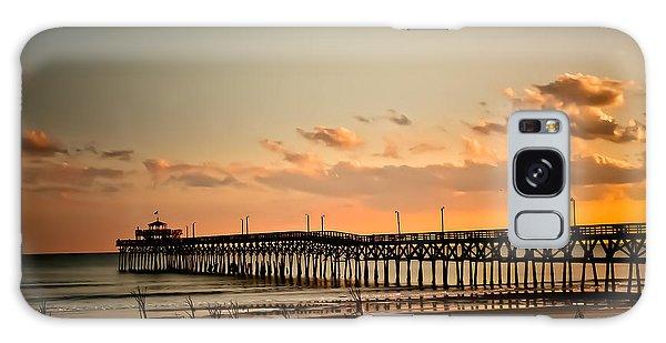 Cherry Grove Pier Myrtle Beach Sc Galaxy Case