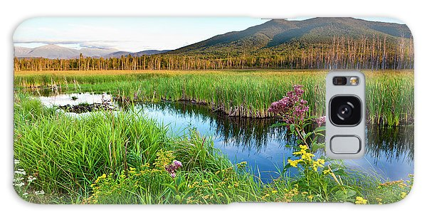 White Mountain National Forest Galaxy Case - Cherry Mountain And The Distant by Jerry and Marcy Monkman