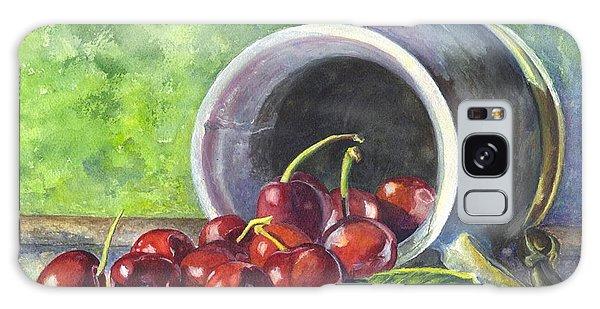 Cherry Pickins Galaxy Case