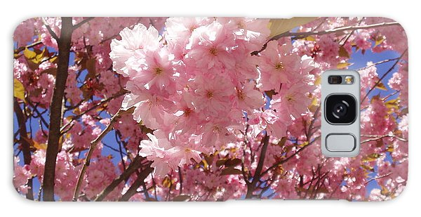 Cherry Trees Blossom Galaxy Case
