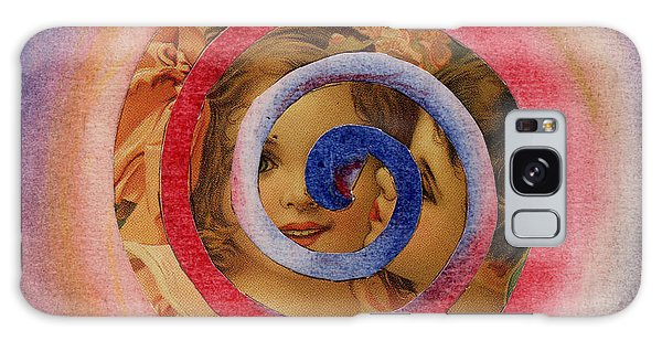 Cherubs Galaxy Case by Christine Perry
