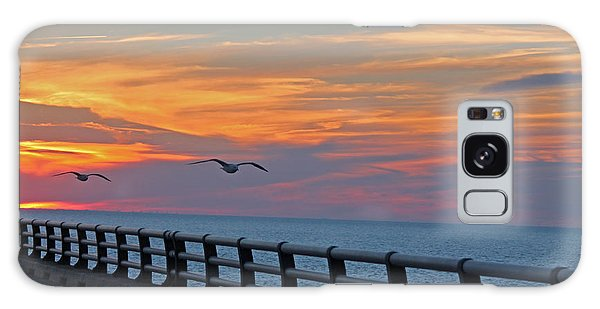 Chesapeake Bay Bridge Galaxy Case